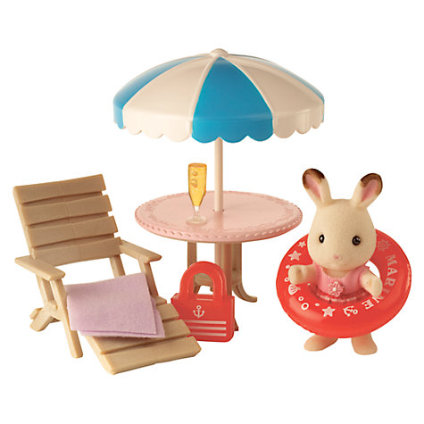 Buy Sylvanian Families Cherrie's Day at the Seaside Online at johnlewis.com