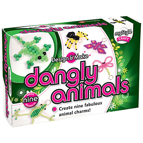 Buy myStyle Design & Make Dangly Animals Online at johnlewis.com