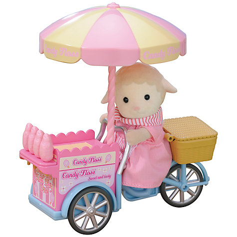 Buy Sylvanian Families Dolly's Candy Floss Stall Online at johnlewis.com