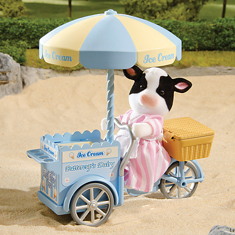 Buy Sylvanian Families Elsie's Ice Cream Cart Online at johnlewis.com