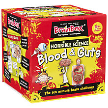 Buy Horrible Science BrainBox, Blood & Guts Online at johnlewis.com