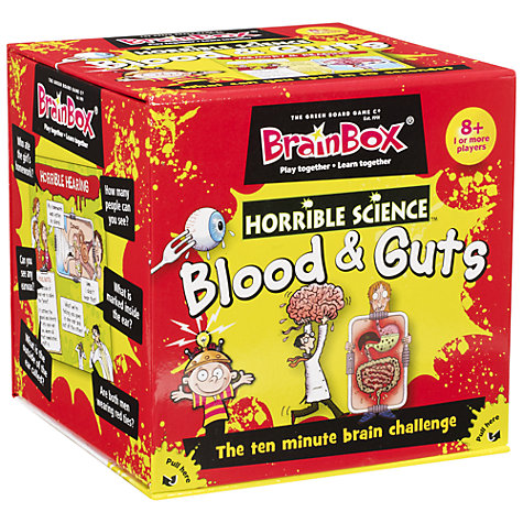 Buy BrainBox Horrible Science, Blood & Guts Online at johnlewis.com