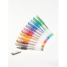 Buy John Lewis Glitter Pens Online at johnlewis.com