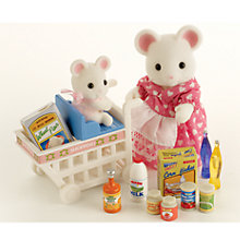 Buy Sylvanian Families Katie and Mazie Go Shopping Online at johnlewis.com