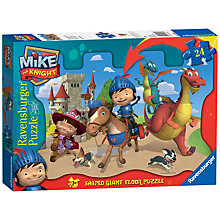Buy Mike the Knight Giant Floor Puzzle, 24 Pieces Online at johnlewis.com