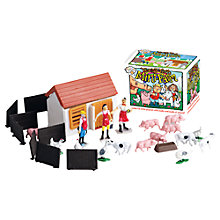 Buy House of Marbles Teeny Tiny Mini Farm Online at johnlewis.com