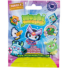Buy Moshi Monsters Blind Bag, Series 5, Assorted Online at johnlewis.com