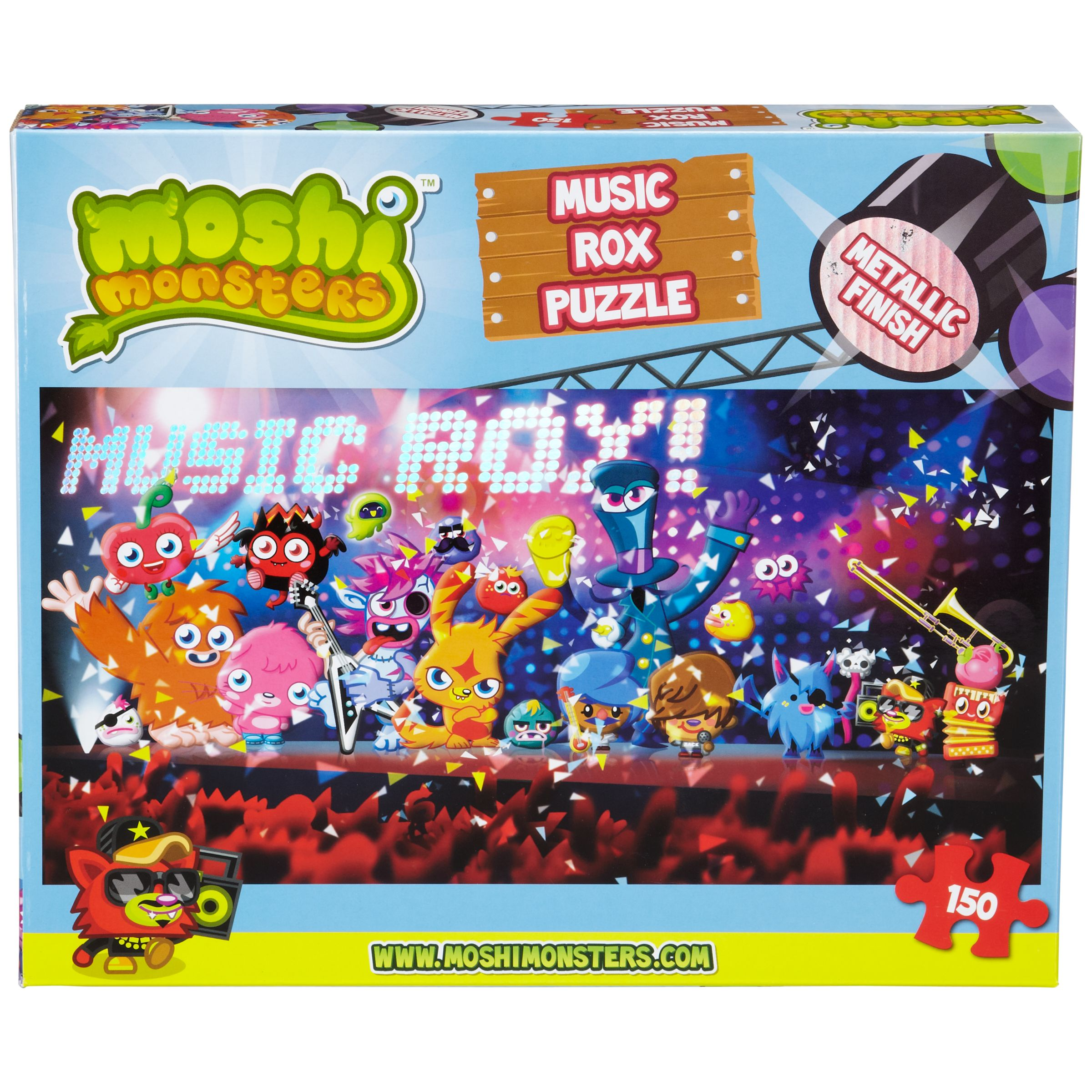 Moshi Monsters Music Rox Puzzle, 150 Pieces