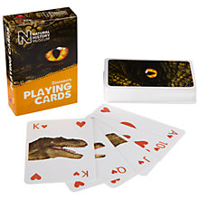 Buy Natural History Museum Dinosaurs Playing Cards Online at johnlewis.com