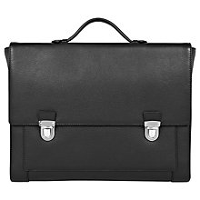 Buy Reiss Holt Soft Leather Briefcase Online at johnlewis.com
