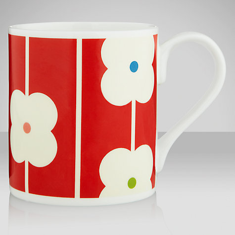 Buy Orla Kiely Red Abacus Mug Online at johnlewis.com