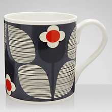 Buy Orla Kiely Wallflower Slate Mug Online at johnlewis.com