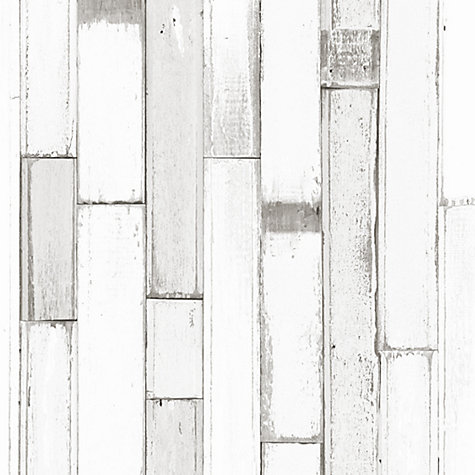 Buy Galerie Painted Wood Panel Wallpaper Online at johnlewis.com