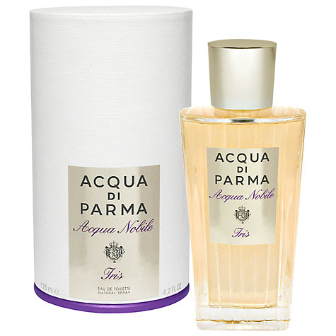 buy acqua di parma iris nobile eau de toilette 125ml lewis