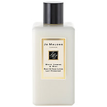 Buy Jo Malone™ White Jasmine & Mint Body & Hand Lotion, 250ml Online at johnlewis.com