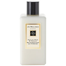 Buy Jo Malone™ English Pear & Freesia Body and Hand Lotion, 250ml Online at johnlewis.com