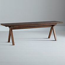 Buy Bethan Gray for John Lewis Noah Large Bench, Limited Edition Walnut Online at johnlewis.com