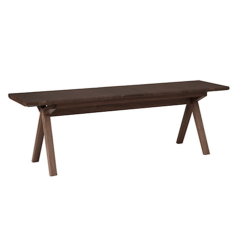 Buy Bethan Gray for John Lewis Noah Small Bench, Limited Edition Walnut Online at johnlewis.com