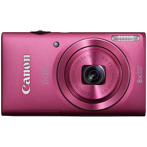 "Buy Canon IXUS 140 Digital Camera, HD 720p, 8x Optical Zoom, 16MP, Wi-Fi with 3"" Screen Online at johnlewis.com"