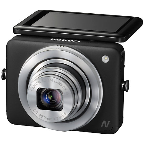 "Buy Canon PowerShot N Camera, HD 1080p, 12.1MP, 8x Optical Zoom, Wi-Fi with 2.8"" Touch Screen Online at johnlewis.com"