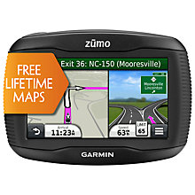 Buy Garmin zumo 350LM Motorbike GPS Navigation System, Europe Online at johnlewis.com