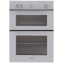 Buy Belling by Sebastian Conran Double Electric Oven and 60cm Gas Hob, Silver Online at johnlewis.com