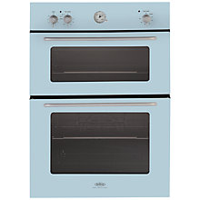 Buy Belling by Sebastian Conran Double Electric Oven and 60cm Gas Hob, Blue Online at johnlewis.com