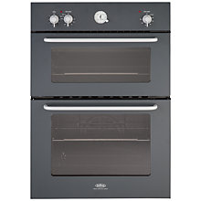 Buy Belling by Sebastian Conran Double Electric Oven and 60cm Gas Hob, Black Online at johnlewis.com