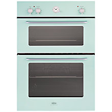Buy Belling by Sebastian Conran Double Electric Oven and 60cm Gas Hob, Green Online at johnlewis.com