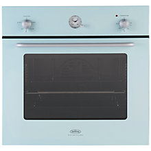 Buy Belling by Sebastian Conran Single Electric Oven and 70cm Gas Hob, Blue Online at johnlewis.com