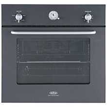 Buy Belling by Sebastian Conran Single Electric Oven and 70cm Gas Hob, Black Online at johnlewis.com