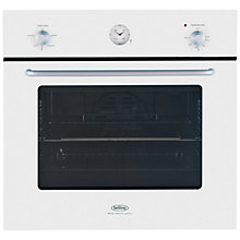 Buy Belling by Sebastian Conran Single Electric Oven and 70cm Gas Hob, White Online at johnlewis.com
