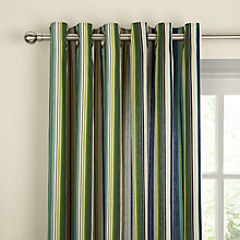 Buy Scion Berry Tree Lined Eyelet Curtains, Lagoon Online at johnlewis.com
