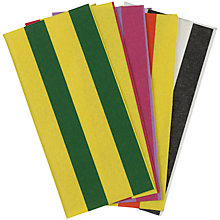 Buy John Lewis Felt Squares, Pack of 5 , Multi Striped Online at johnlewis.com