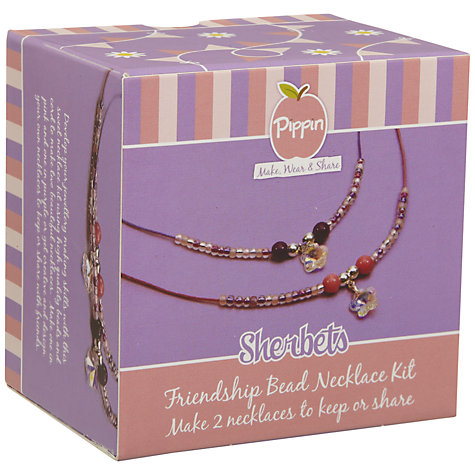 Buy Pippin Friendship Bead Necklace Kit, Sherberts Online at johnlewis.com