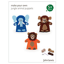 Buy John Lewis Make Your Own Jungle Animal Puppets Online at johnlewis.com