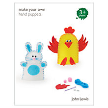Buy John Lewis Make Your Own Hand Puppets Online at johnlewis.com