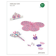 Buy John Lewis Make Your Own Fairy Set Online at johnlewis.com
