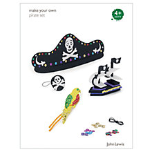Buy John Lewis Make Your Own Pirate Set Online at johnlewis.com