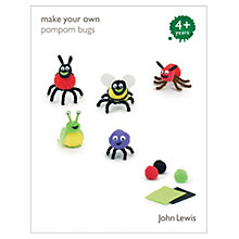 Buy John Lewis Make Your Own Pompom Bugs Online at johnlewis.com