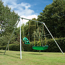 Buy TP Toys Double Giant Swing Frame with QuadPod and Pirate Boat Online at johnlewis.com