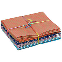 Buy Fat Quarter Bundle, Pack of 8, Spots/Stripes Online at johnlewis.com