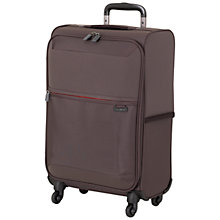 Buy Samsonite Short-Lite 4-Wheel 55cm Cabin Suitcase, Grey Online at johnlewis.com