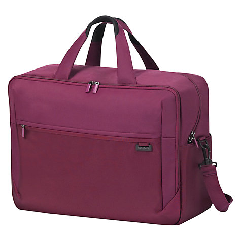 Buy Samsonite Short-Lite Shoulder Holdall Online at johnlewis.com