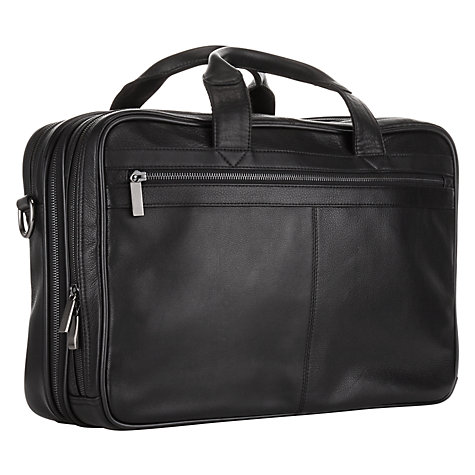 Buy John Lewis New Detroit Leather Business Tote Online at johnlewis.com