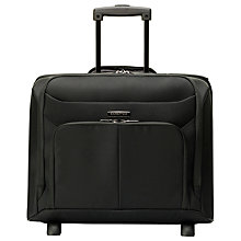 Buy Samsonite Ergo Biz 2-Wheel Rolling Bag, Black Online at johnlewis.com