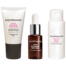 Buy bareMinerals Youth Intro Kit for Combination Skin Online at johnlewis.com