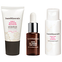 Buy bareMinerals Youth Revealed Intro Kit, Normal to Dry Skin Online at johnlewis.com