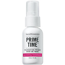 Buy bareMinerals Prime Time Neutralizing Foundation Primer, 30ml Online at johnlewis.com