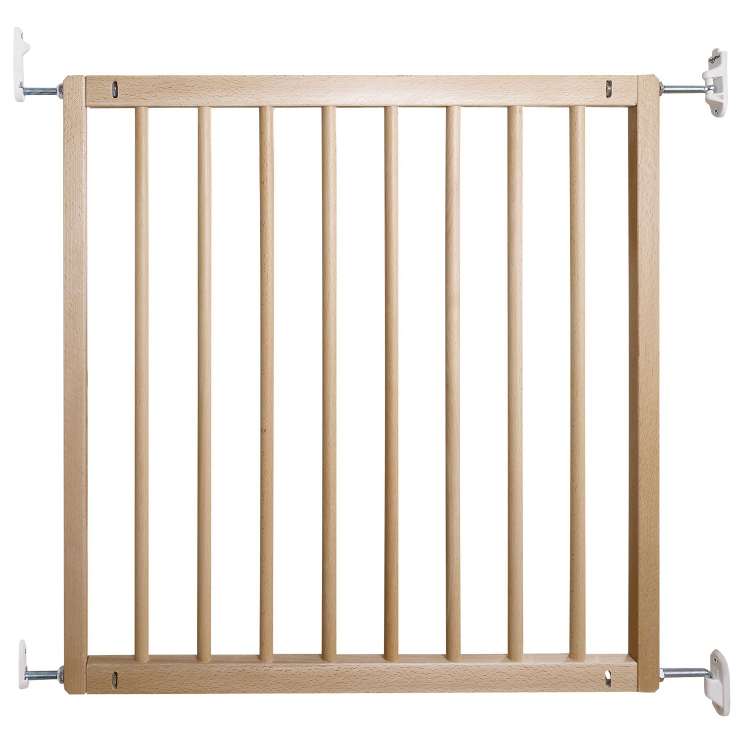 BabyDan BabyDan No Trip Wooden Baby Stair Gate